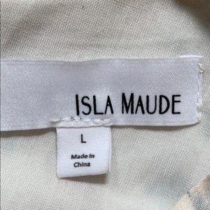 Anthropologie Tops - Anthropologie Isla Maude Floral Peplum Blouse